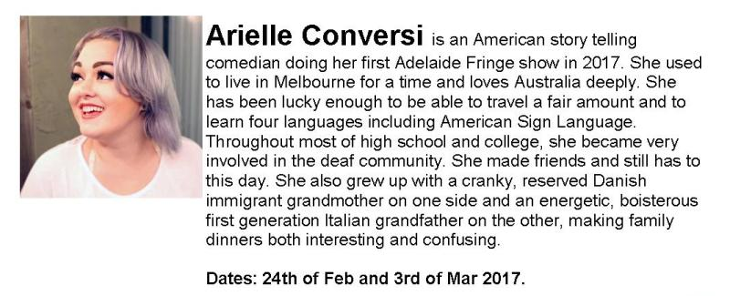 Arielle Conversi (From America – Southern)