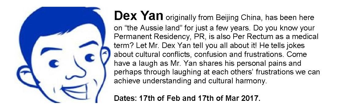 Dex Yan (New Immigrant from China)