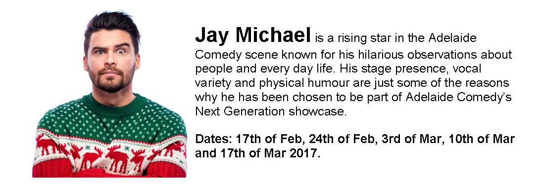 Artist Profile: Jay Michael (Ethnic But Not Really Ethnic)
