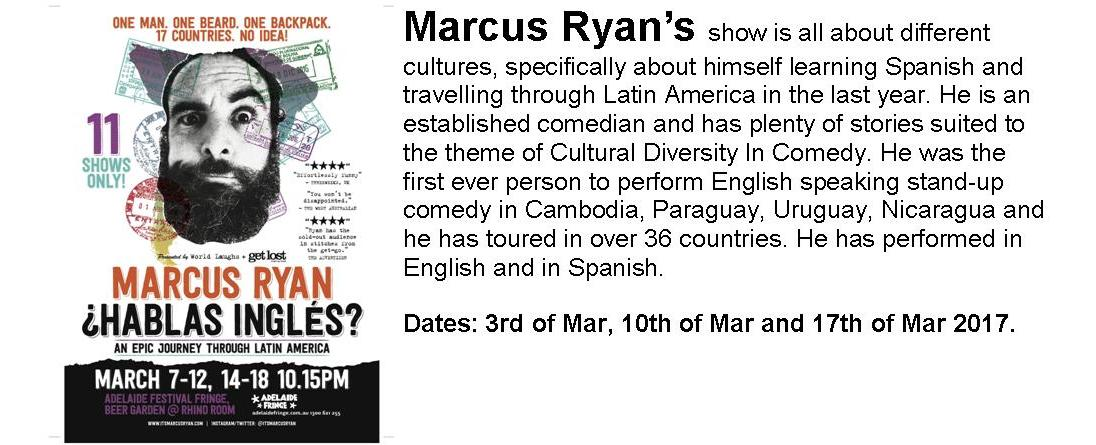 Marcus Ryan (Travel Stories)