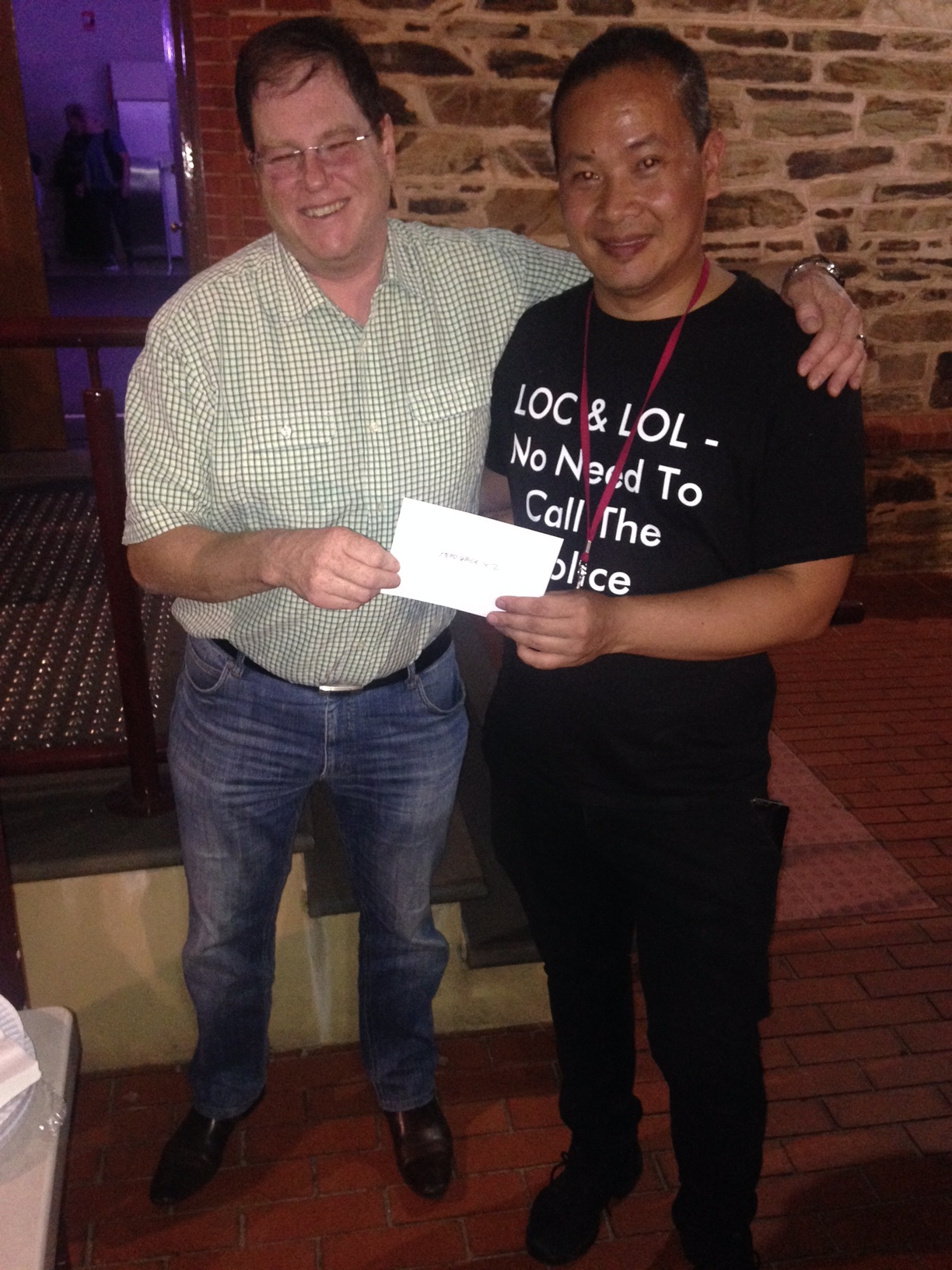 David who is also a winner of a double pass to Headspace Stand Up For Youth Mental Health - Adelaide Fringe hosted by headspace Edinburgh North.